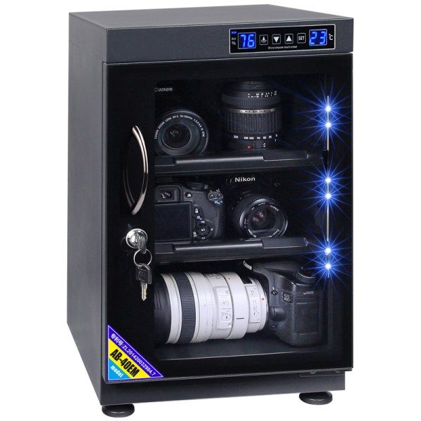AUTENS 40L Touch Screen Camera Dehumidifying Dry Cabinet Storage Box for DSLR Camera Lens 1