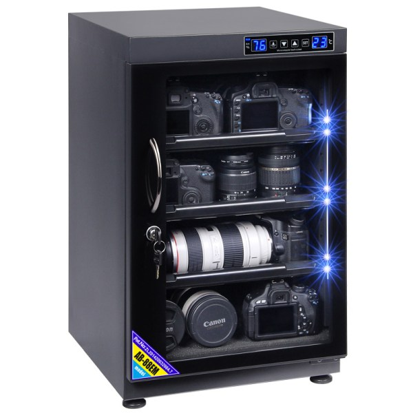 AUTENS 88L Touch Screen Camera Dehumidifying Dry Cabinet Storage Box for DSLR Camera Lens 1