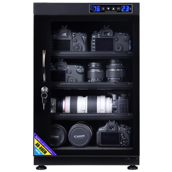 AUTENS 88L Touch Screen Camera Dehumidifying Dry Cabinet Storage Box for DSLR Camera Lens 2