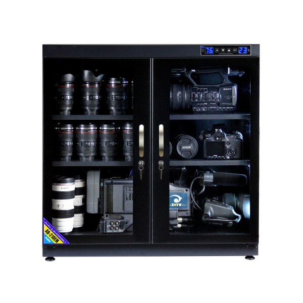 AUTENS 210L Touch Screen Camera Dehumidifying Dry Cabinet Storage Box for DSLR Camera Lens 1
