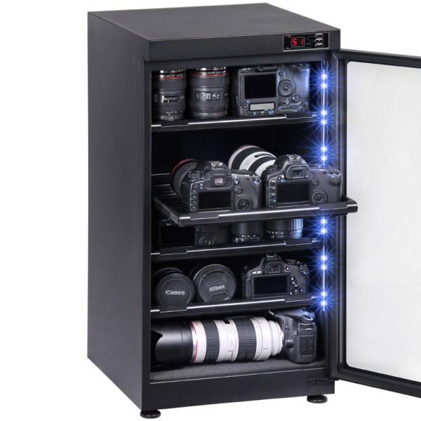 AUTENS 102L Digital Control Dehumidify Dry Cabinet Box DSLR Lens Camera Equipment Storage 2