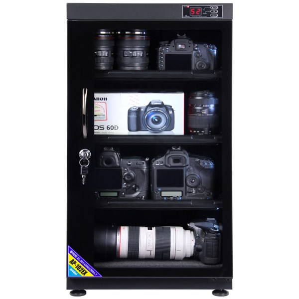 AUTENS 102L Digital Control Dehumidify Dry Cabinet Box DSLR Lens Camera Equipment Storage 4