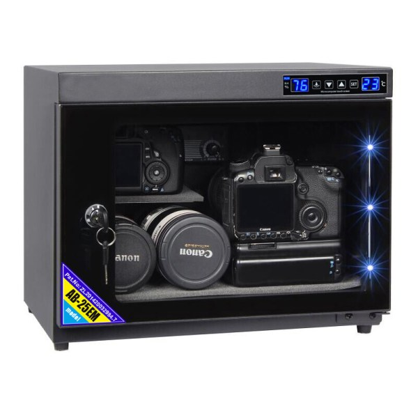 AUTENS 25L Touch Screen Camera Dehumidifying Dry Cabinet Storage Box for DSLR Camera Lens 1