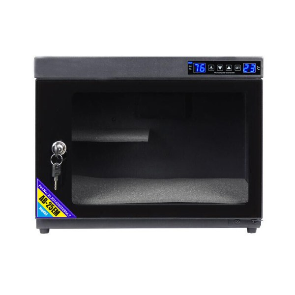 AUTENS 25L Touch Screen Camera Dehumidifying Dry Cabinet Storage Box for DSLR Camera Lens 3