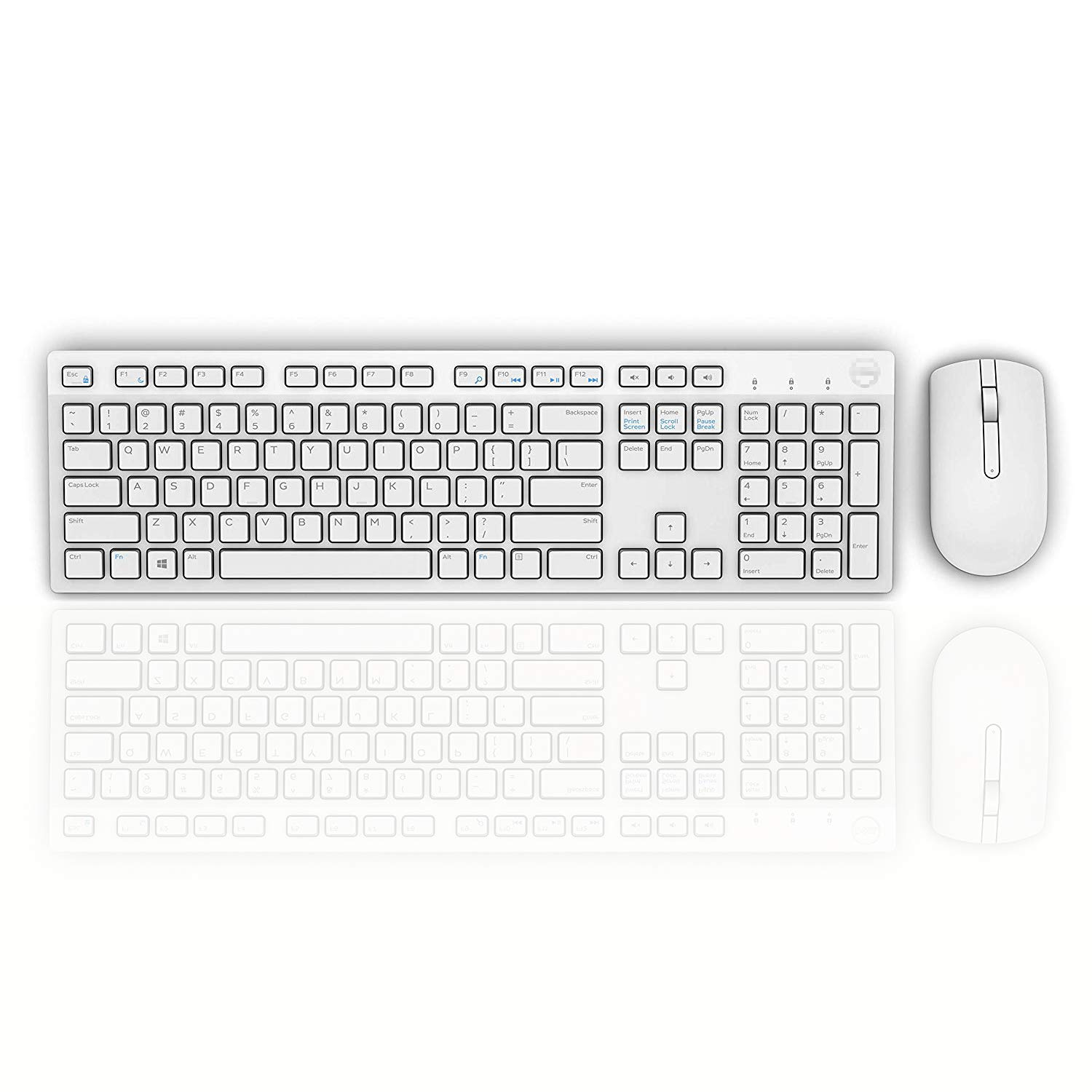 5WH32 Dell KM636 Wireless Keyboard /& Mouse Combo