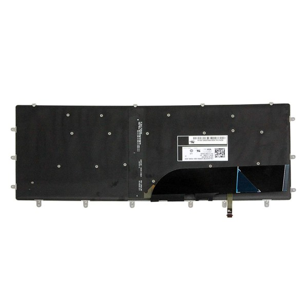 Replacement Keyboard for Dell XPS 15 9550 9560 / Inspiron 7558 7568 / Precision 5510 M5510 Laptop No Frame 2