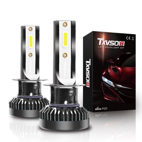H1 LED Headlight Bulbs Conversion Kit 6000 K Cold White 360° Adjustable Beam 1