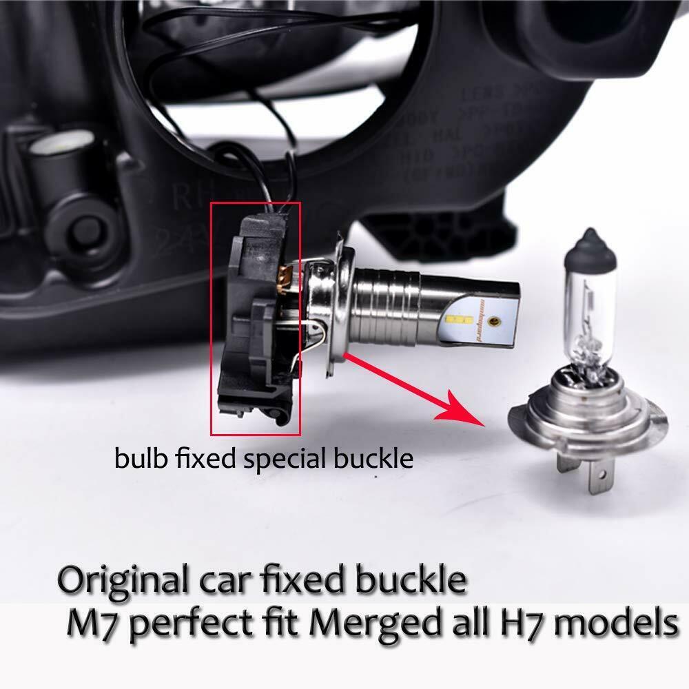 110W 30000LM H7 LED Car Headlight Conversion Globes Canbus Bulbs Beam 6000K Kit