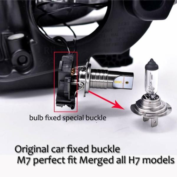 LED Car Headlight Conversion Kit H7 6000K 110W 30000LM Globes Canbus Bulbs Beam 5