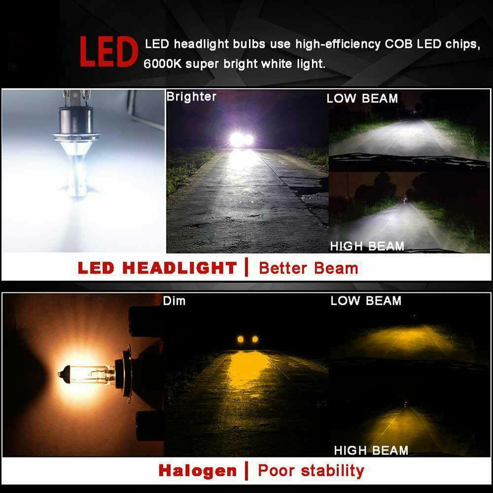 110W 26000LM H7 LED Canbus error free Car Headlight KIT 6000K Bulbs White