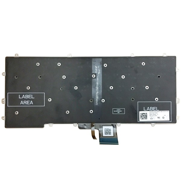 Replacement Keyboard for Dell Latitude E7370 7370 Laptop No Frame 2