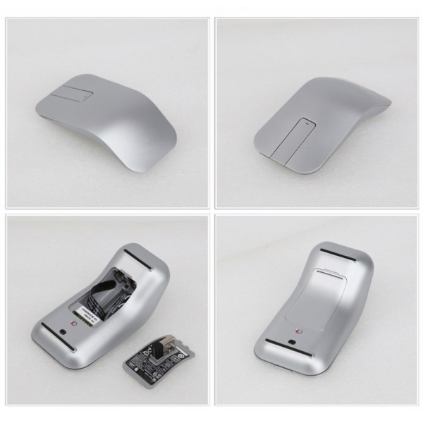 Wireless Keyboard Mouse Combo for Lenovo IBM US Keyboard SK-8861, Touch Mouse ZTM600 3