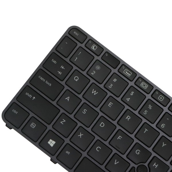 Replacement Keyboard for HP EliteBook 745 G3 / 745 G4 / 840 G3 / 840 G4 / 848 G3 Laptop with Pointer Black 3