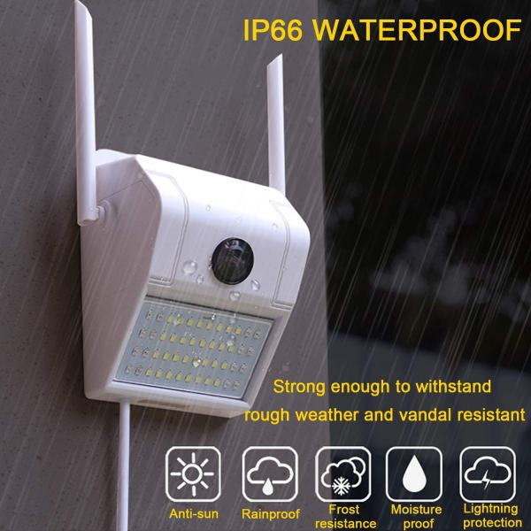 1080P Onvif WiFi Security Camera Motion Sensor Floodlight Outdoor Night Vision 2