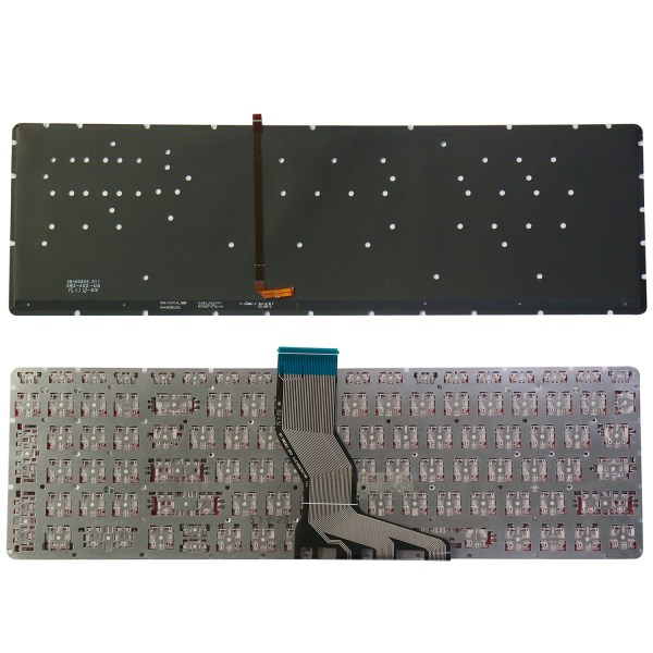 Replacement Keyboard for HP Omen 15-ax 15-ax000 15-ax100 15-ax200 15t-ax000 15t-ax200 Series Laptop No Frame 5