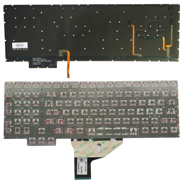 Replacement Keyboard for HP Omen 15-ce 15-ce000 15-ce100 15t-ce000 15t-ce100 Series Laptop No Frame 5