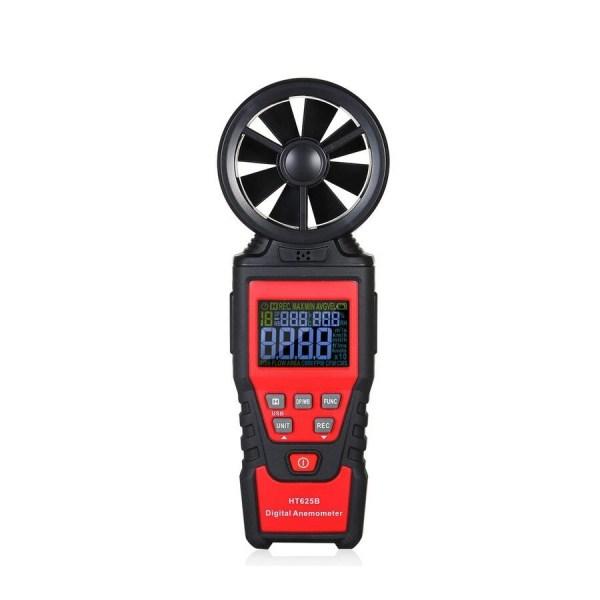 Digital Anemometer Humidity Temperature Testers with USB Data Logging Wind Speed Meter Air Flow Meters (Type B) 1