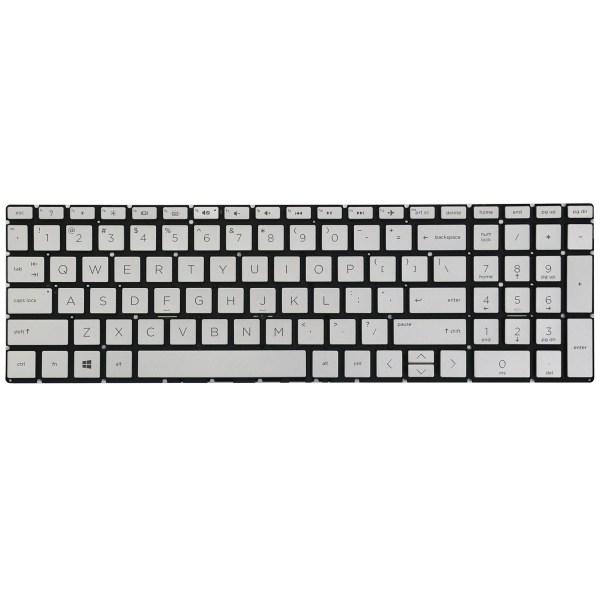 Replacement Keyboard for HP 15-da 15-da0000 15-da1000 15-da2000 15t-da000 15t-da100 15t-da200 Series Laptop Backlight 1