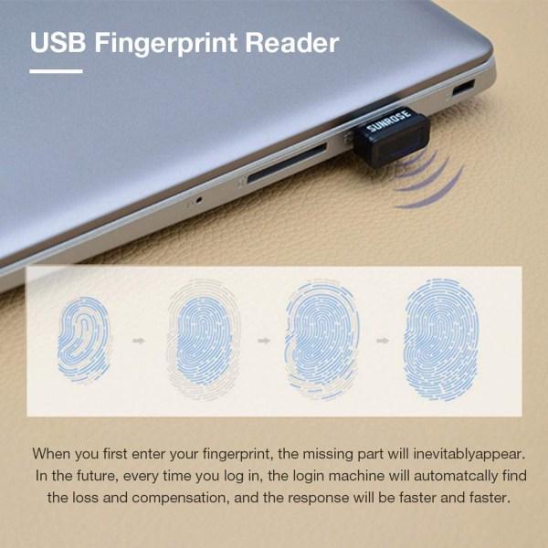 USB Fingerprint Reader for Windows 10 Hello Encryption Fingerprint Identification Scanner Sensor 8