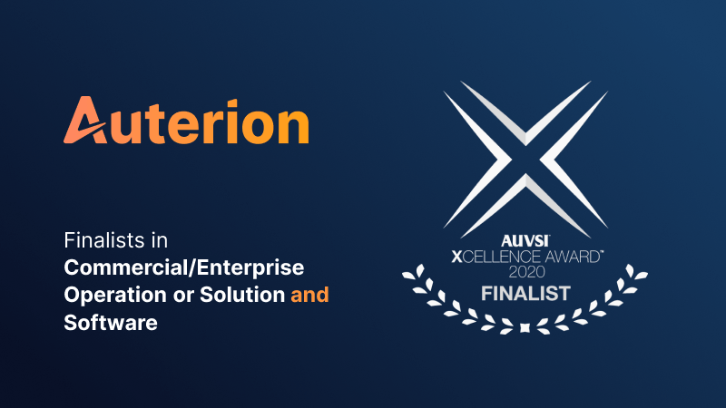 Auterion announced as finalist for AUVSI XCELLENCE awards