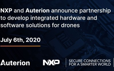 NXP and Auterion collaborate to develop integrated hardware and software solutions