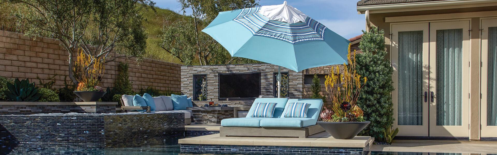 treasure garden outdoor umbrellas