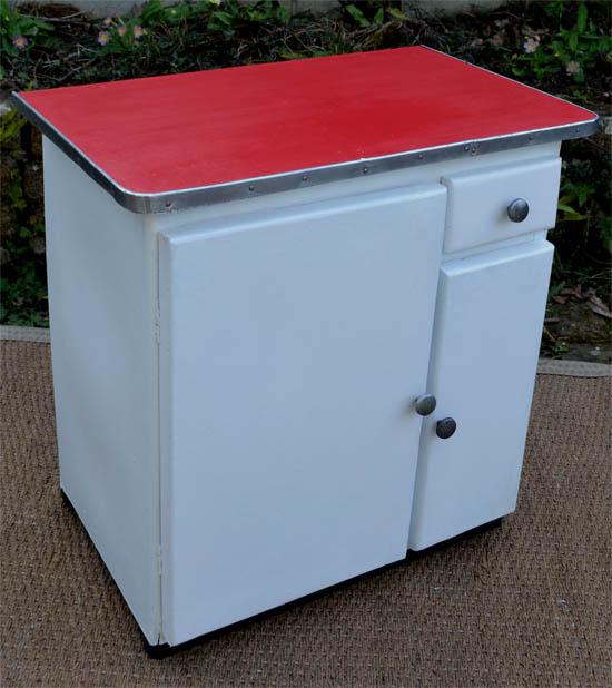 petit meuble de cuisine vintage pour