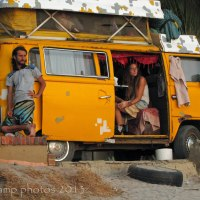 Home - A little yellow camper van