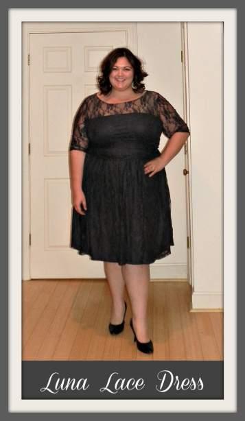 Kiyonna Luna Lace Dress