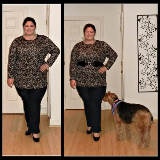JJill Plus Size Tunic via Gwynnie Bee