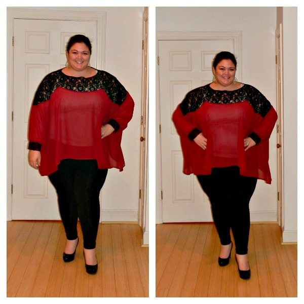 ASOS Curve Lace Tunic from Gwynnie Bee