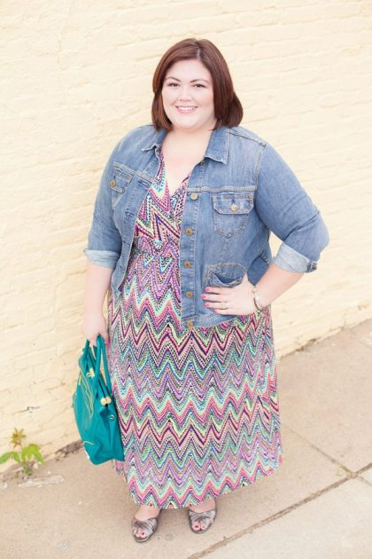 Emmie in NY Collection maxi dress from Gwynnie Bee