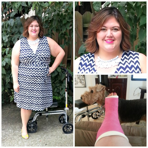 Inc Plus Size Zig Zag Dress