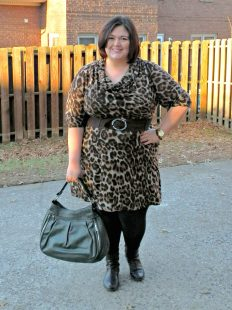 Jessica Howard Leopard Print Dress