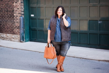 Melissa McCarthy Top, Universal Standard jeans