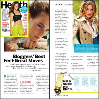 Health Magazine, April 2014