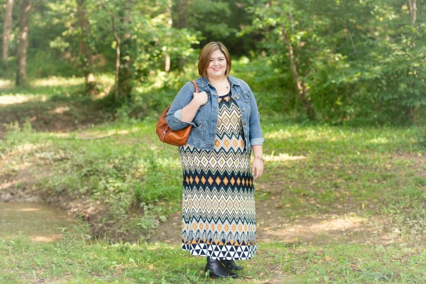 Karen Kane Egyptian Diamond Maxi Dress from Gwynnie Bee