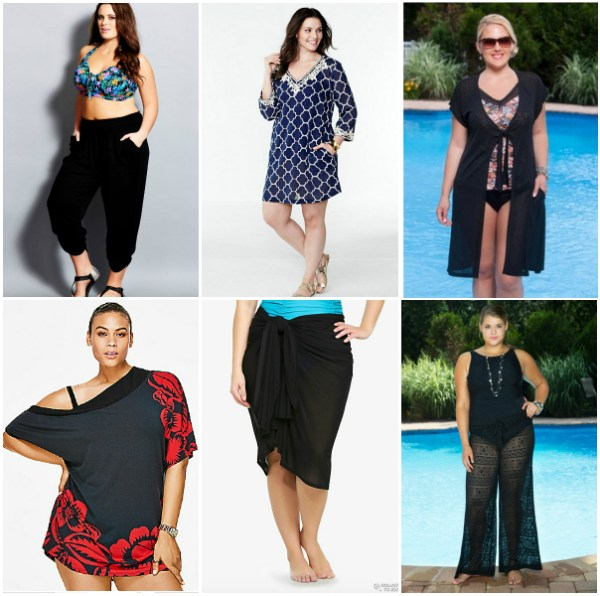 Plus Size Swim Coverups