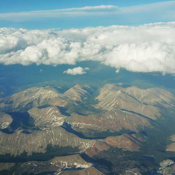 Flight into Denver