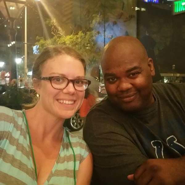 Brandi and Dre at Fitbloggin