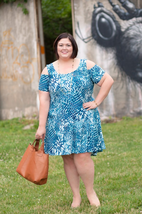 MYNT 1792 Cold Shoulder Dress on Authentically Emmie