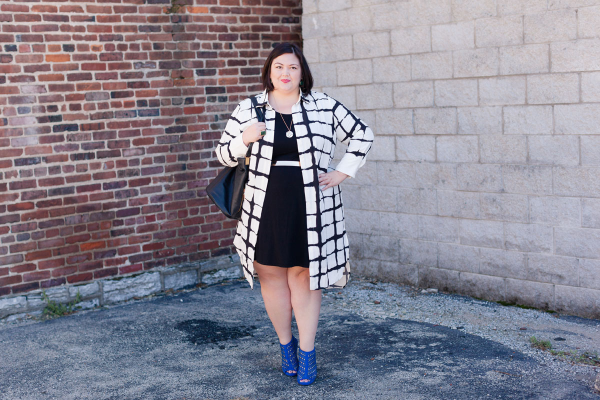 Adam Lippes for Target Plus Size on Emily Ho of Authentically Emmie