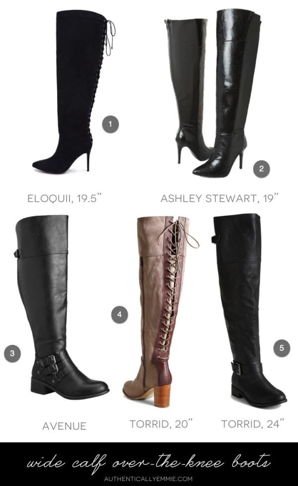 Wide and Extra Wide Calf Boots for 2016