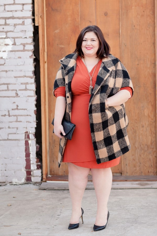 Authentically Emmie in the Kiyonna Cinch Dress