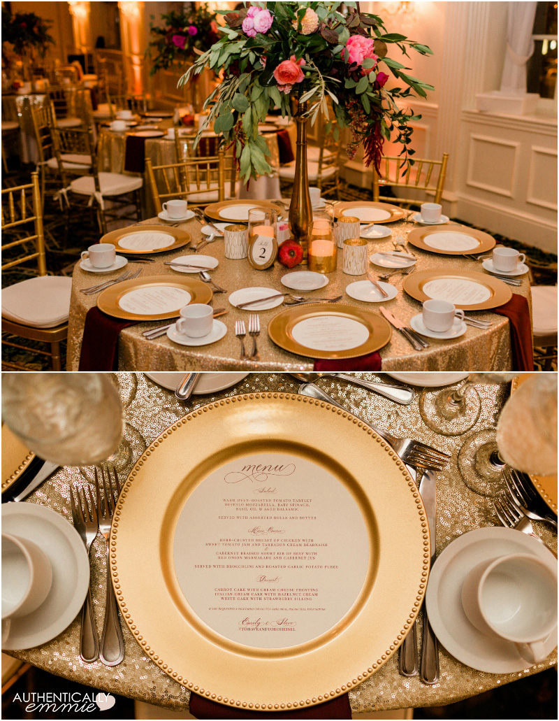 An intimate and elegant wedding at the Brown Hotel in Louisville KY