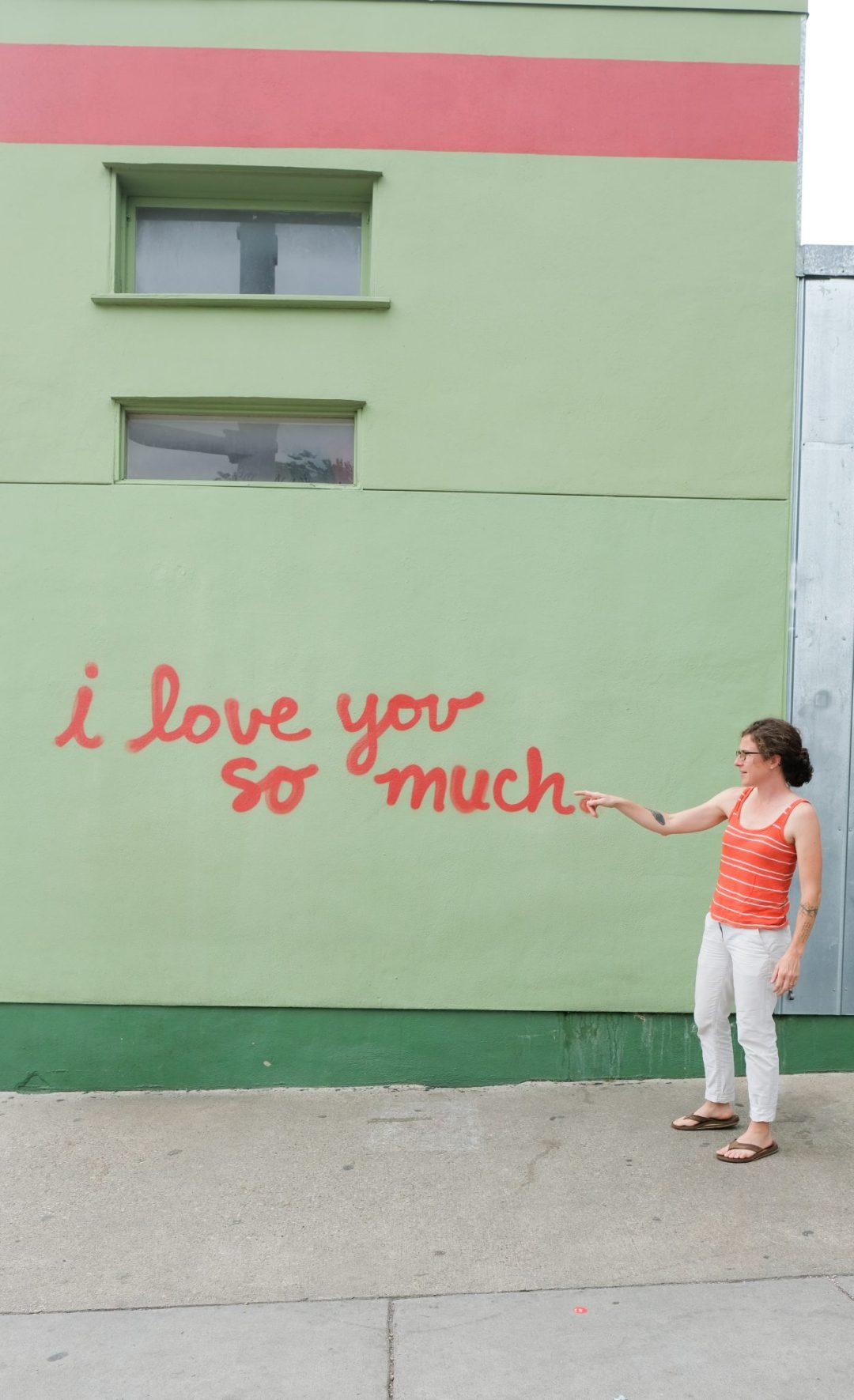 Jo's Coffee Mural in Austin, Texas