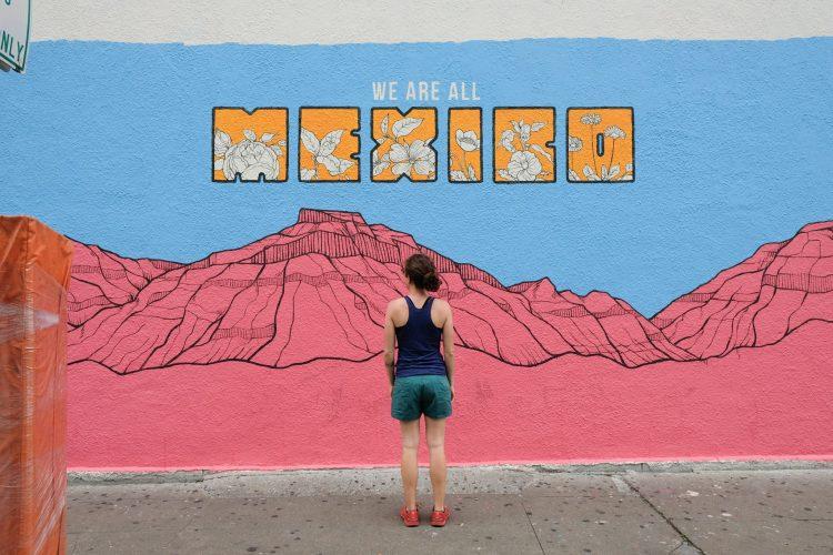 Mural art in Austin, Texas by Héctor Ruiz