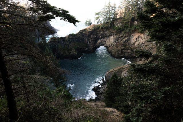 the glorious Oregon coast