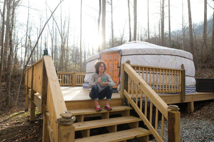 Yurt in NC