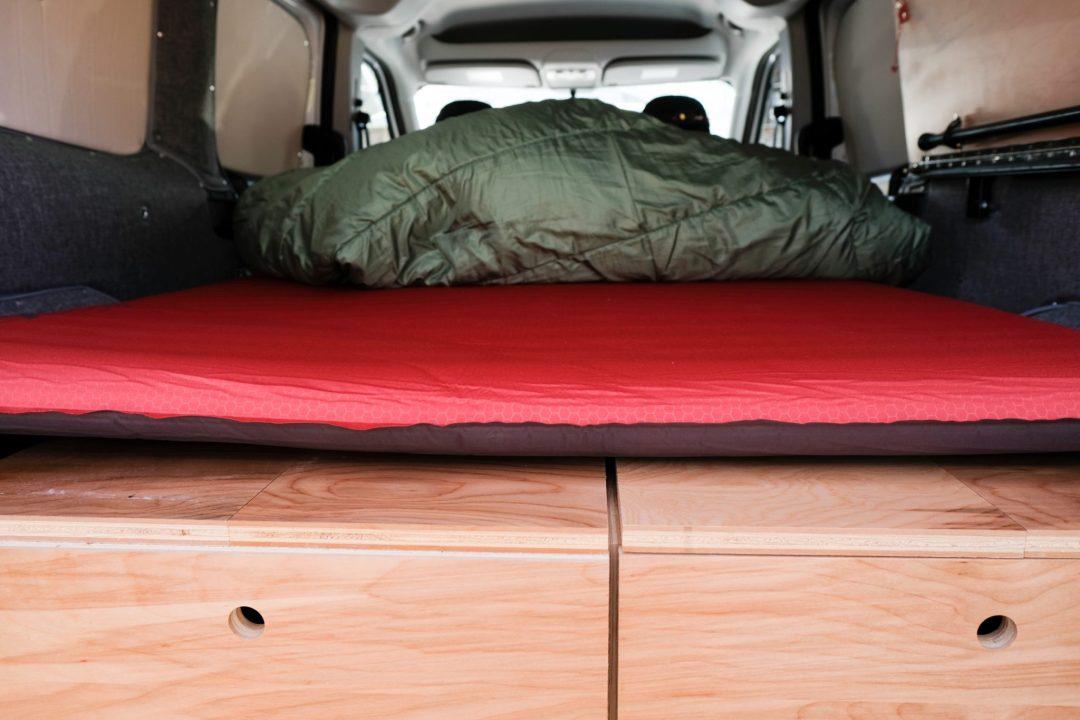 Van Life: Our sleeping system